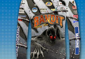 Bandit Fishing Team jerseys by Crystal Coast Graphics.